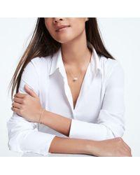 Sophie Ratner - Horizontal Diamond Studded Necklace - Lyst