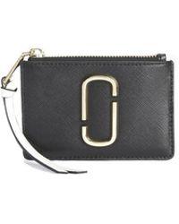 Marc Jacobs - The Top Zip Multi Wallet 21 - Lyst