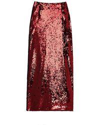 G. Label by goop - Flynn Sequin Skirt - Lyst