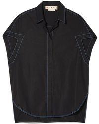 Marni - Short-sleeve Polo Neck Shirt - Lyst