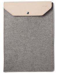 """Graf & Lantz - Macbook Air Sleeve Granite 13"""" - Lyst"""