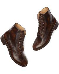 The Office Of Angela Scott - Mr. Harrison Combat Boots - Lyst