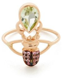 Daniela Villegas - Yellow-gold Khepri Ring - Lyst