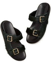 Marni - Fussbett Slip-on Sandals - Lyst