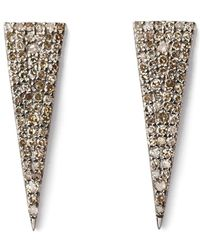 Sheryl Lowe - Triangle Earrings - Lyst