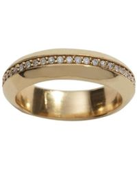 Ariel Gordon - Pavé Fat Tire Ring - Size 5 - Lyst