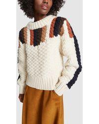 Sea - Aspen Chunky Hand-knit Sweater - Lyst