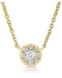 Anne Sisteron - Disk Necklace - Lyst