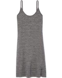 Bassike - Slub Jersey Slip Dress - Lyst