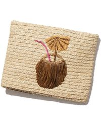 Hat Attack - Coconut Drink Clutch - Lyst
