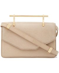 M2malletier - Indre Embossed Leather Bag - Lyst
