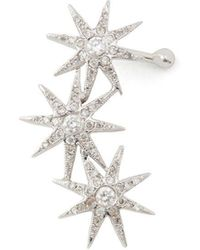 Colette - Constellation Diamond Ear Cuff Earring - Lyst