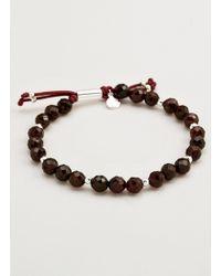 Gorjana & Griffin - Power Gemstone Garnet Beaded Bracelet For Energy - Lyst