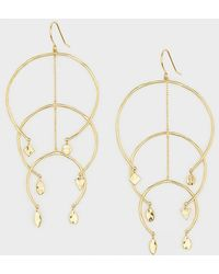 Gorjana - Luca Arc Mobile Earrings - Lyst