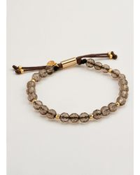 Gorjana & Griffin - Power Gemstone Smoky Quartz Beaded Bracelet For Grounding - Lyst