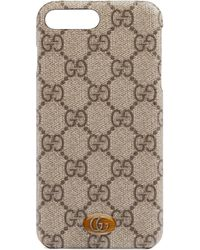 Gucci Étui pour iPhone 8 Plus Ophidia