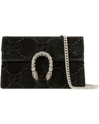 Gucci - Sac super mini Dionysus en velours GG - Lyst
