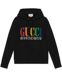 Gucci - Sweatshirt mit -Cities-Print - Lyst