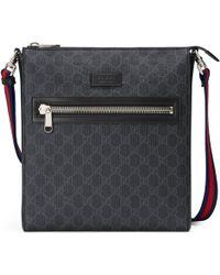 Gucci - Borsa a tracolla in tessuto GG Supreme - Lyst 6e24a870b86