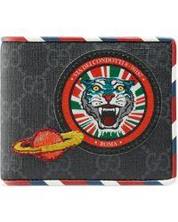Gucci - Night Courrier Brieftasche aus GG Supreme - Lyst