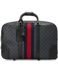 Gucci - Soft GG Supreme Carry-on Duffle With Wheels - Lyst