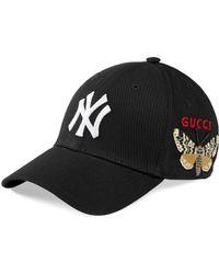 Gucci - Cappellino da baseball con patch NY YankeesTM - Lyst