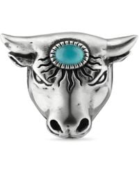 Gucci | Anger Forest Bull's Head Ring | Lyst