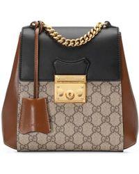 Gucci - Padlock Gg Supreme Backpack - Lyst