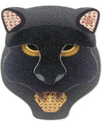 Gucci - Resin Panther Head Brooch - Lyst