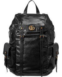 Gucci - RE(BELLE) Rucksack aus Leder - Lyst