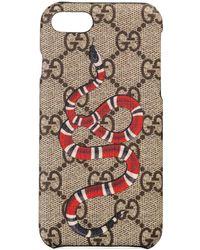 Gucci - Kingsnake Print Iphone 8 Case - Lyst