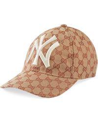 Gucci - Cappellino da baseball con patch NY YankeesTM - Lyst f081061e1b2e