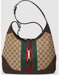 Gucci - Jackie Original Gg Canvas Shoulder Bag - Lyst