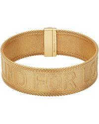 Gucci - Blind For Love Bracelet In Gold - Lyst