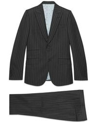 Gucci - Heritage Pinstripe Wool Suit - Lyst