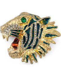 Gucci - Broche Rajah en métal - Lyst