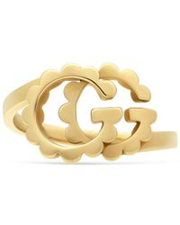 Gucci - GG Running Yellow Gold Ring - Lyst
