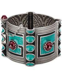 Gucci - Garden Square G Bracelet - Lyst