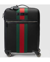 Gucci - Techno Fabric Wheeled Carry-on Suitcase - Lyst