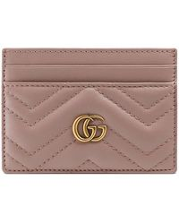 Gucci - Gg Marmont Card Case - Lyst