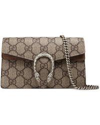 Gucci - Dionysus Gg Supreme Super Mini Bag - Lyst