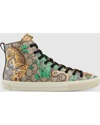 Gucci - Bengal High-top Trainer - Lyst