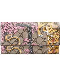 Gucci - Bengal Continental Wallet - Lyst