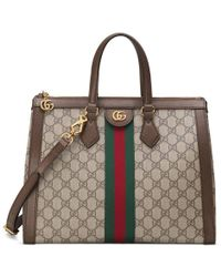 Gucci - Ophidia Gg Medium Top Handle Bag - Lyst