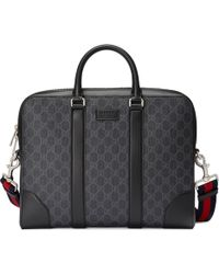 Gucci - Portadocumenti in tessuto GG Supreme - Lyst 1d4bb7b45174