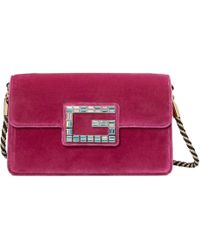Gucci - Shoulder Bag With Square G - Lyst
