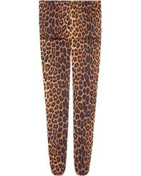 Gucci - Collants à imprimé léopard - Lyst