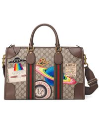 Gucci | Courrier Soft Gg Supreme Duffle Bag | Lyst