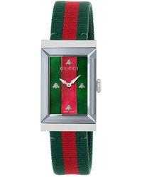 Gucci - G-frame Watch, 21x34mm - Lyst