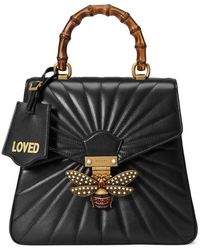 Gucci - Queen Margaret Quilted Leather Backpack - Lyst